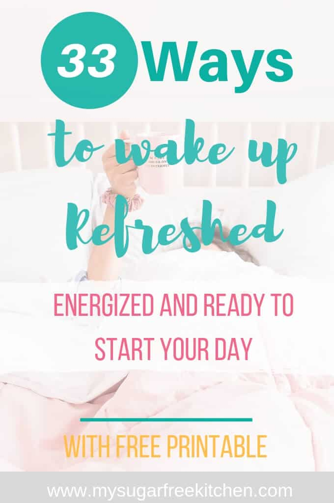 33 ways to wake up refreshed