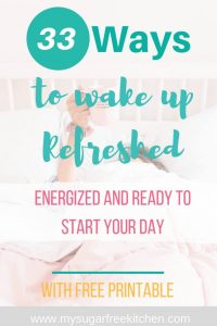 how to wake up feeling refreshed every day