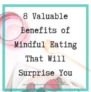 Benefits of mindful eating - 1