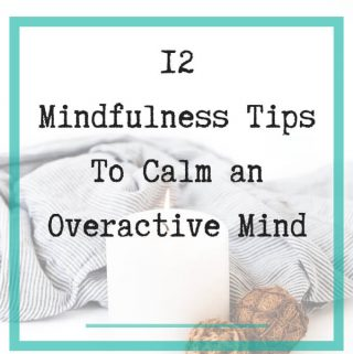 calm overactive mind