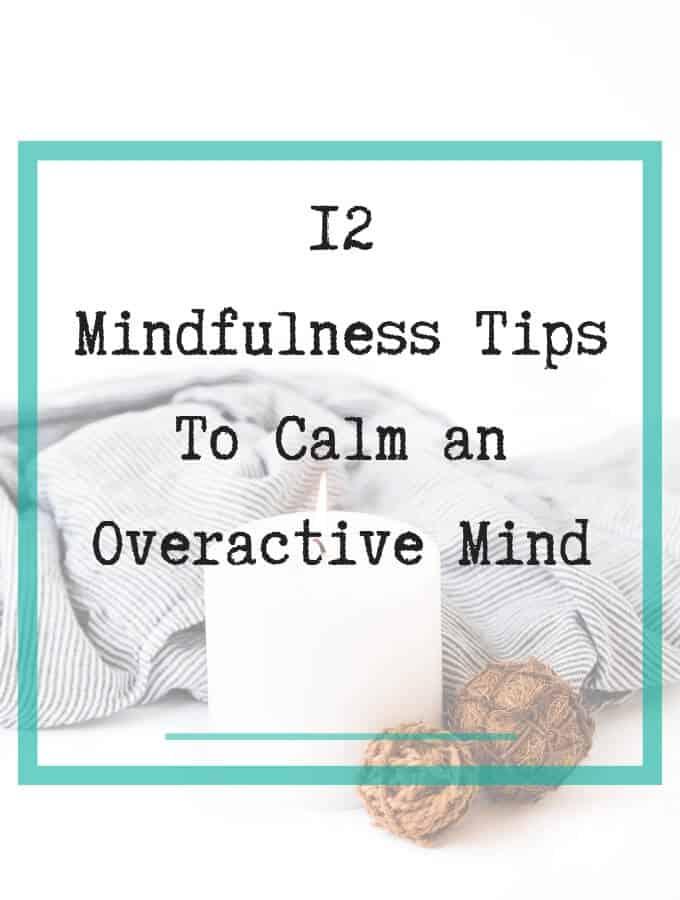 calm overactive mind
