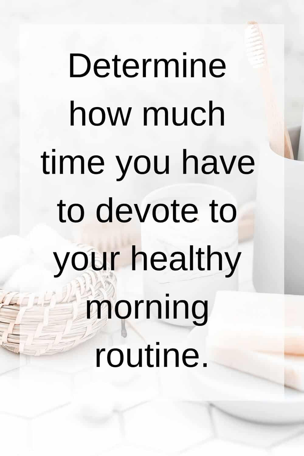 mindful morning routine tip 2