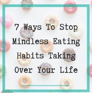 mindless eating habits