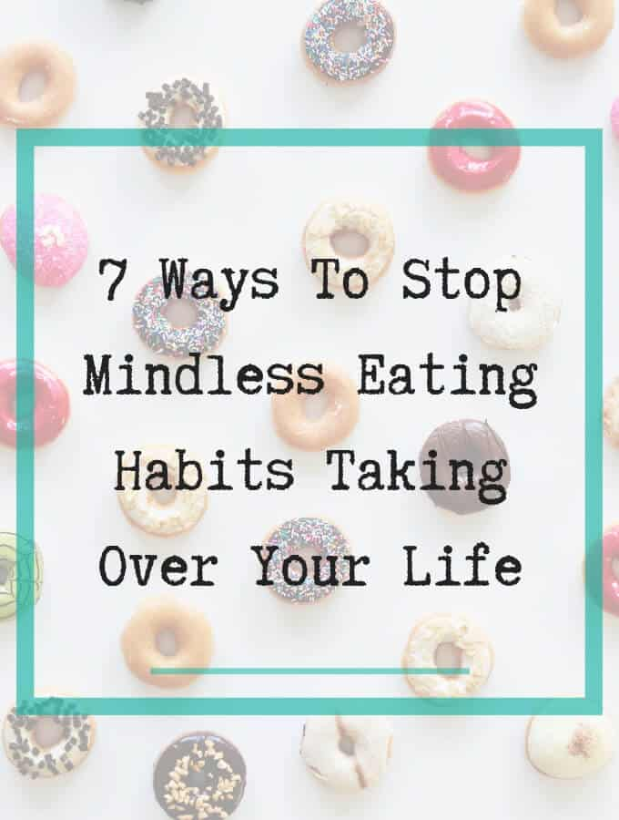 mindless eating habits