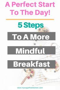 Mindful Breakfast - 3