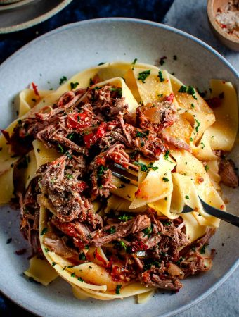 Slow Cooker Lamb Ragu-8