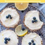 Raw lemon tart - pinterest