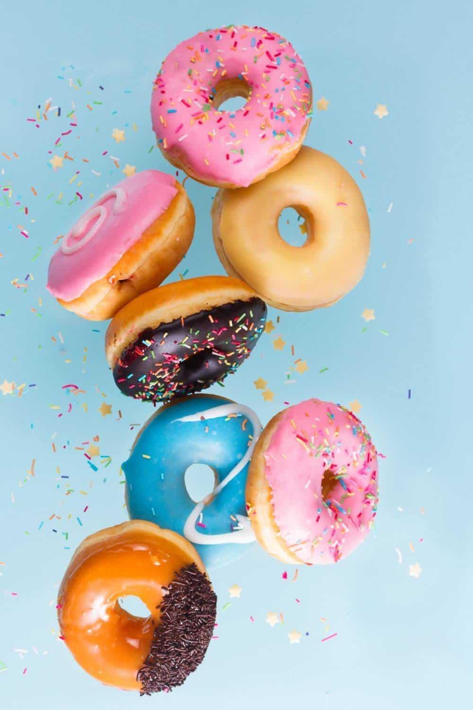 flying doughnuts