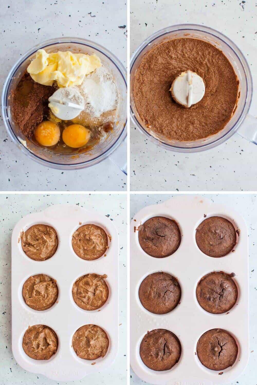 Chocolate earl grey cupcakes prep - 2