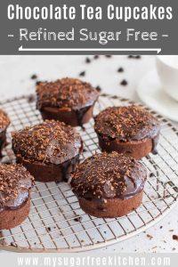 Chocolate earl grey tea cupcakes - pinterest 1