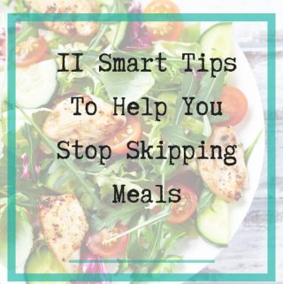 Stop Skipping Meals - featured
