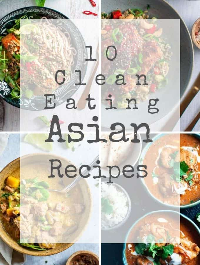 clean eating asian collection
