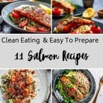 clean eating salmon recipes - featured