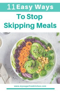 Easy ways to stop skipping meals