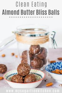Almond butter bliss balls - pinterest 2