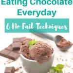 How to stop eating chocolate everyday