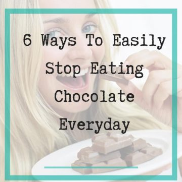 stop eating chocolate - Featured