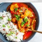 Healthy Mango Chicken Bake - Pinterest 1
