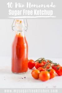 sugar free ketchup pinterest