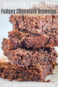 Dairy Free Brownies - Pinterest 1
