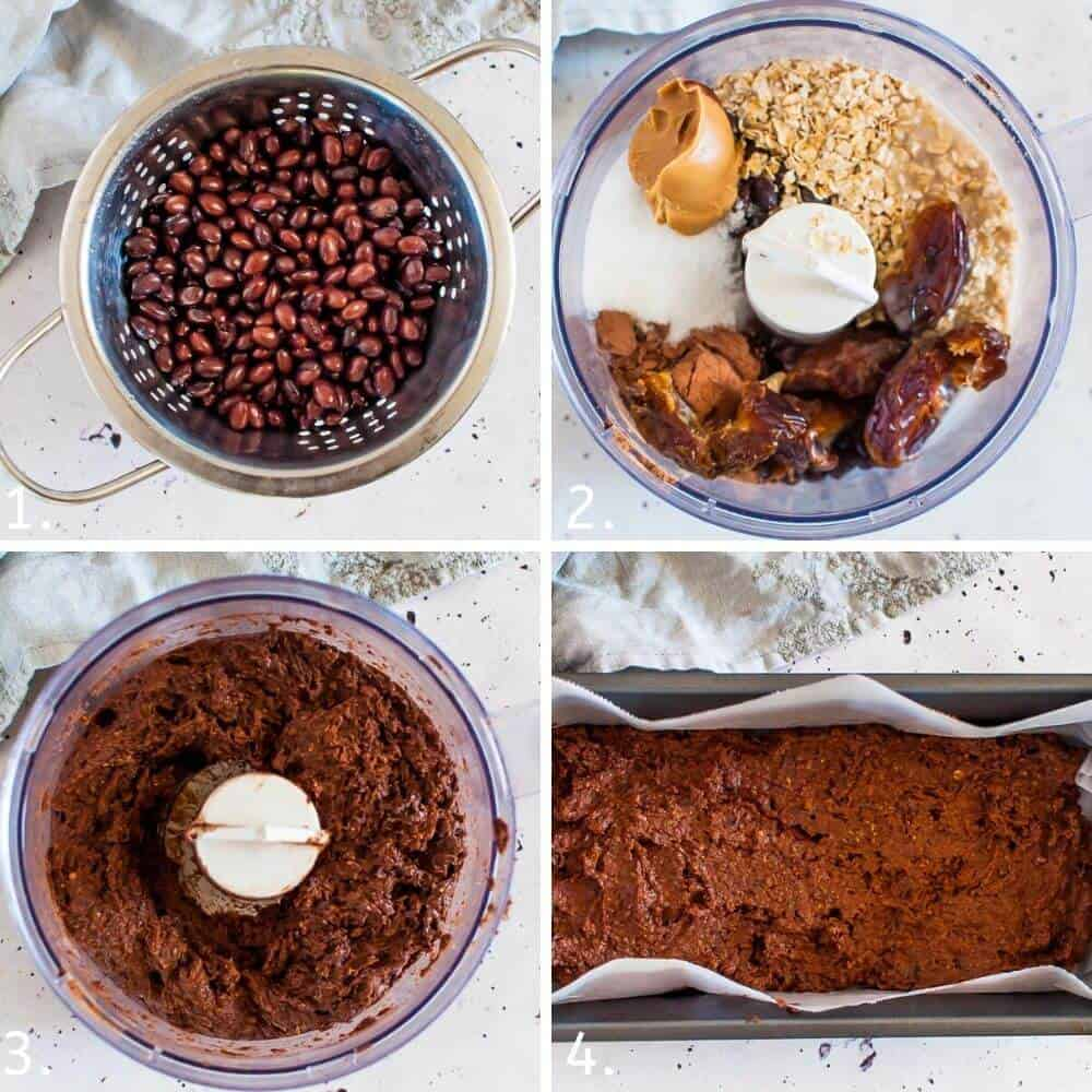 Dairy Free Brownies collage