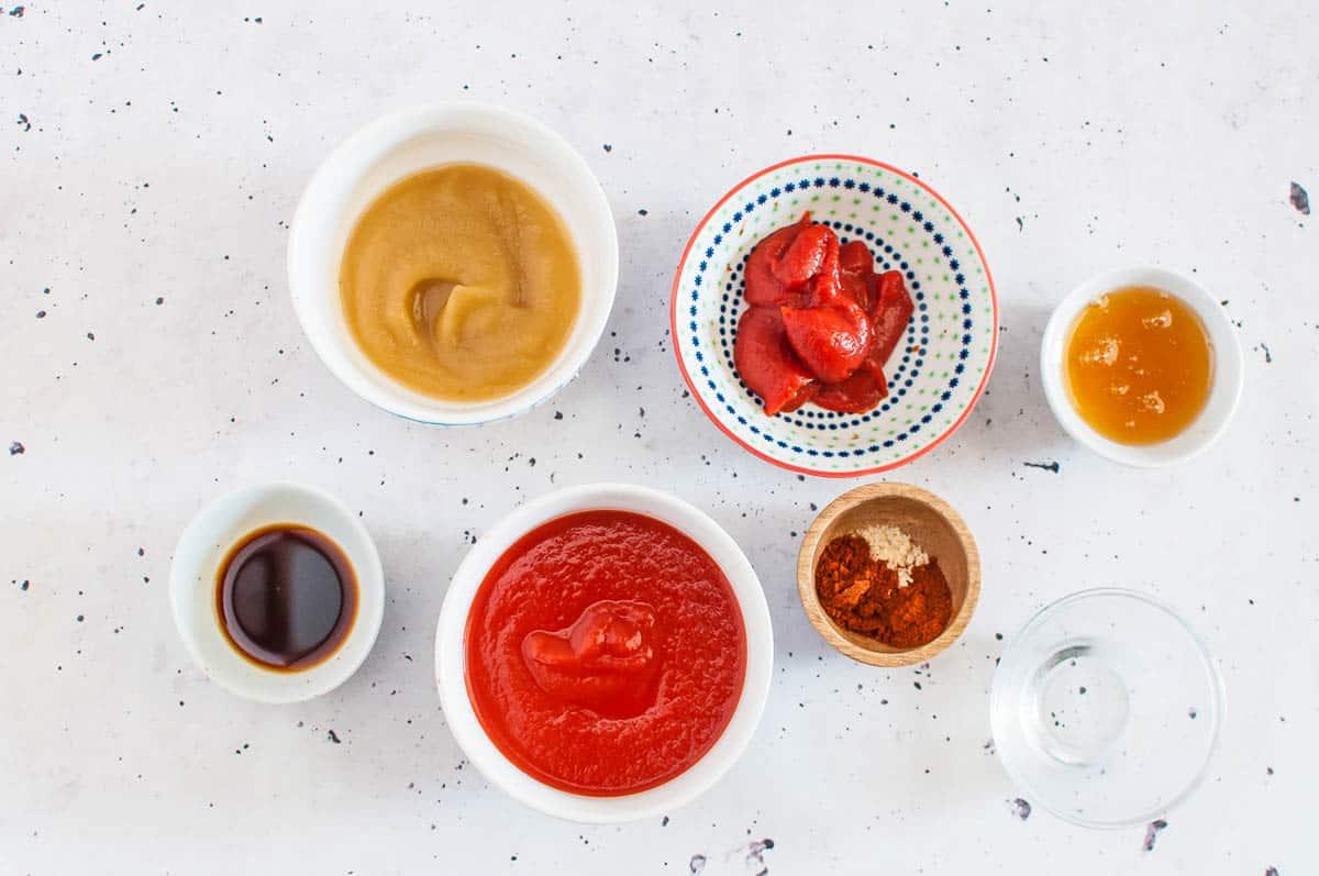 sugar free bbq sauce ingredients