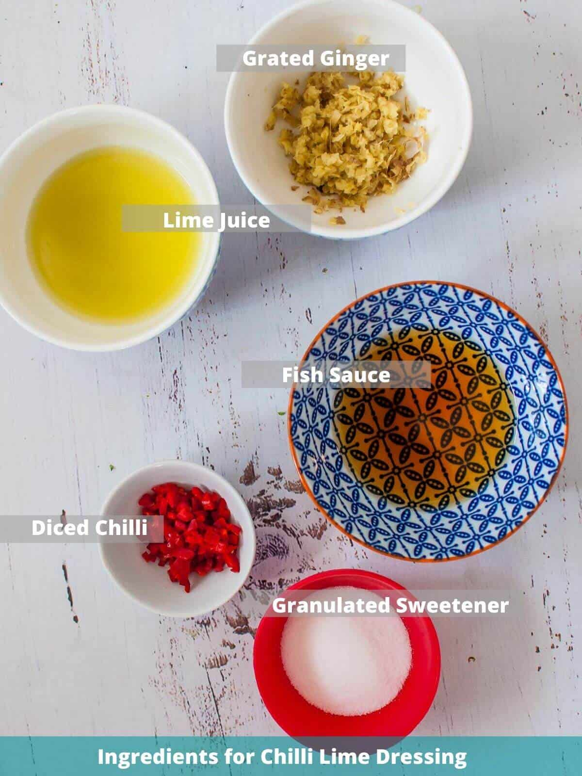 Chilli lime dressing ingredients