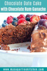 chocolate date cake pinterest