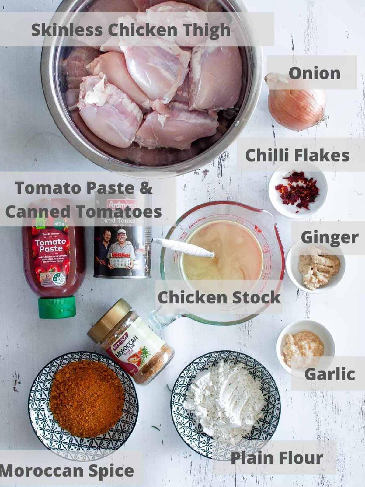 spicy chicken slow cooker ingredients