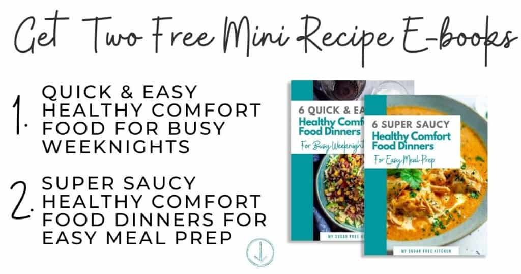 Healthy Comfort Food Dinner Recipe Ebooks