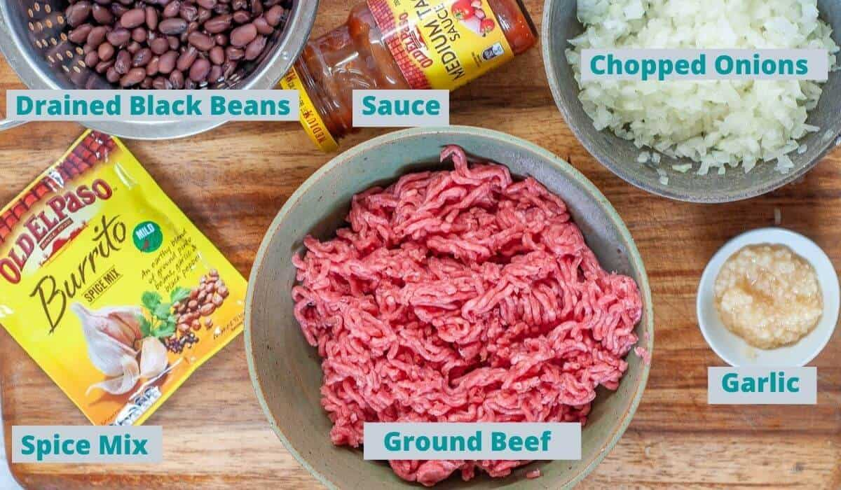 Ingredients For Ground Beef Sauce