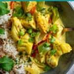 Kerala Fish Curry - Pin