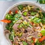 Vietnamese Beef Salad - pin