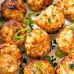 AIr Fryer Turkey Meatballs - pin